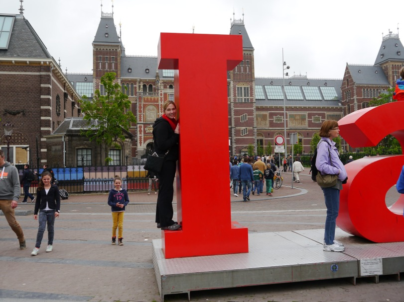 Definitely need a photo op with the I Amsterdam sign!
