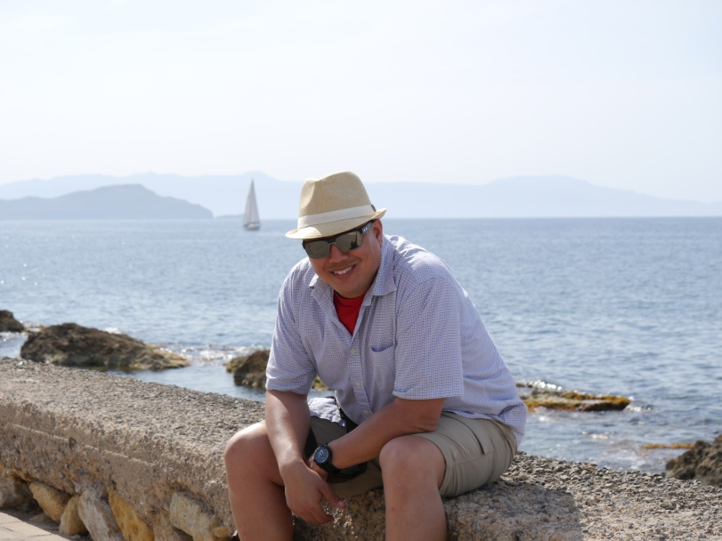 John by the harbor.