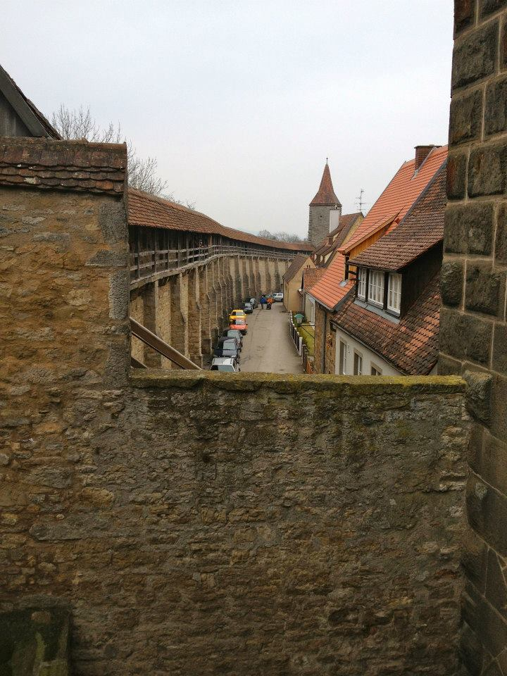 If you have the time, take a walk around the walls to get a different perspective of the town.