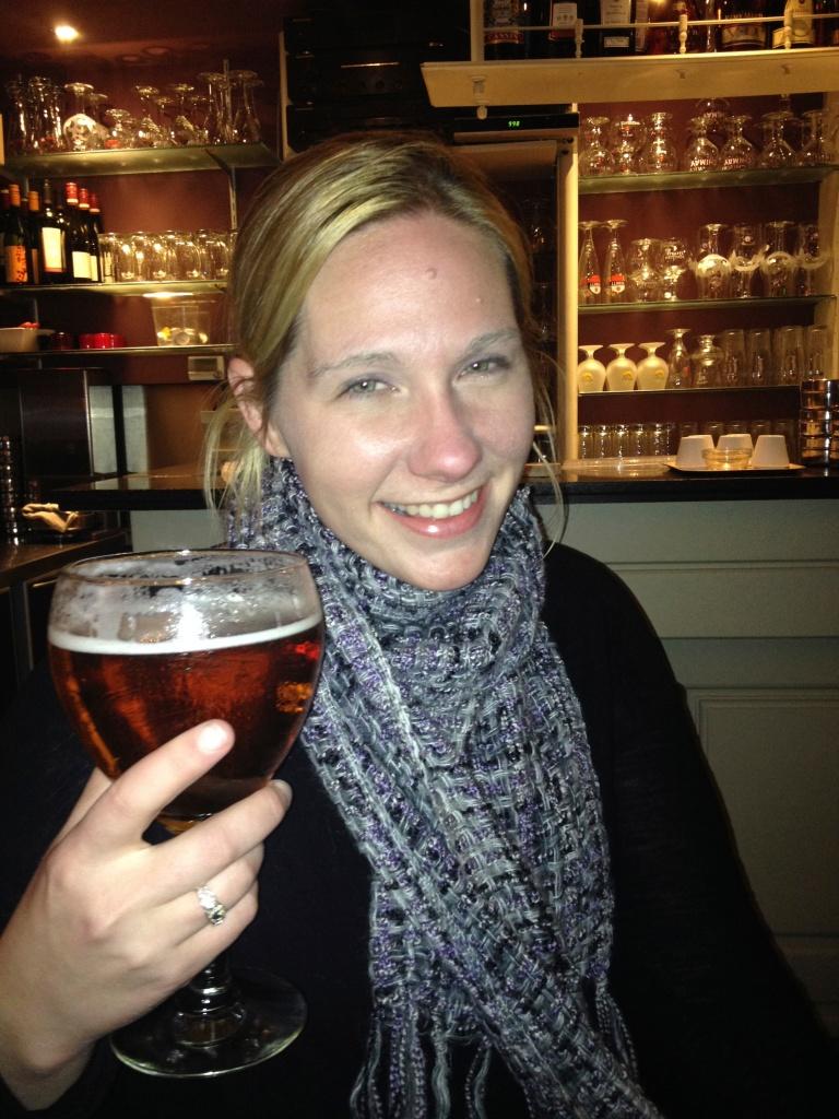 Mmmmm...Leffe! My favorite Belgium beer!