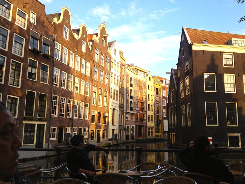 The canals of Amsterdam!