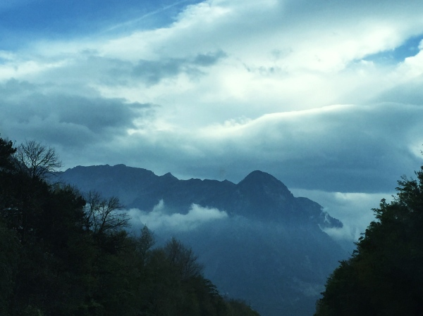 The drive took us by the German Bodensee and through Liechtenstein (see above)