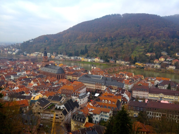 View from the Castle!