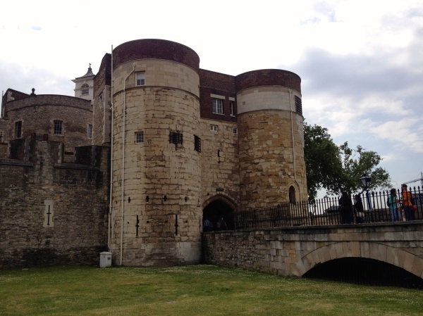 Entrance into the Tower of London - buy tickets ahead to avoid the lines!
