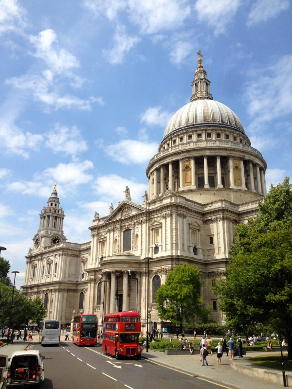 St. Paul's Cathedral, where Prince Charles and Princes Di got married.