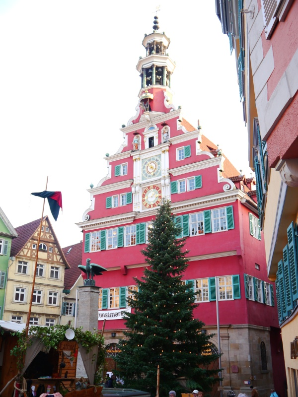 The Rathaus - location of the main market.