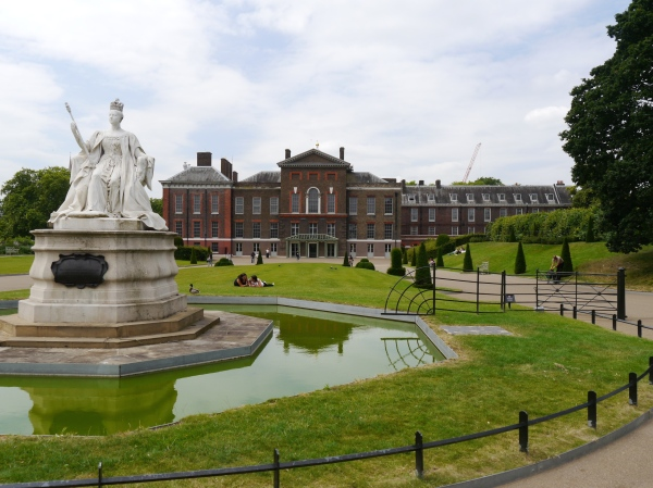 First stop - Kensington Palace!