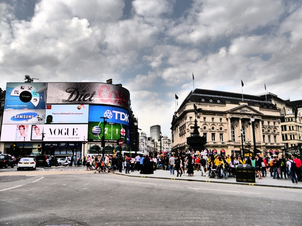 Picadilly Circus!