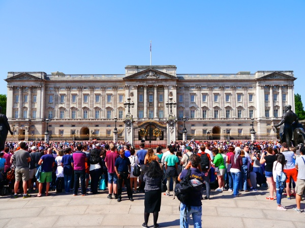 Buckingham Palace! (Check the dates when you visit - the Queen was still in town, so the palace was closed to visitors!)