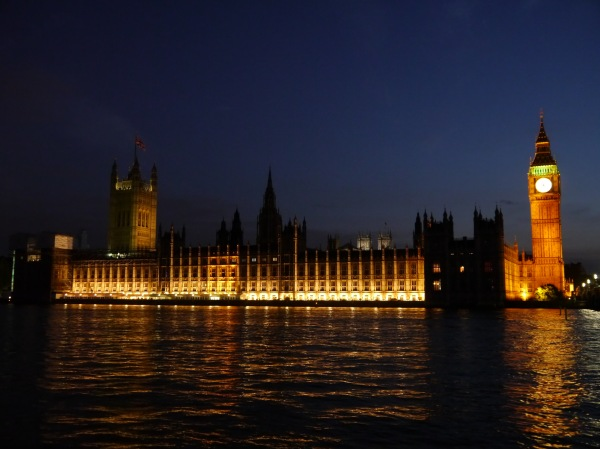 Pretty Parliament...worth seeing at night!