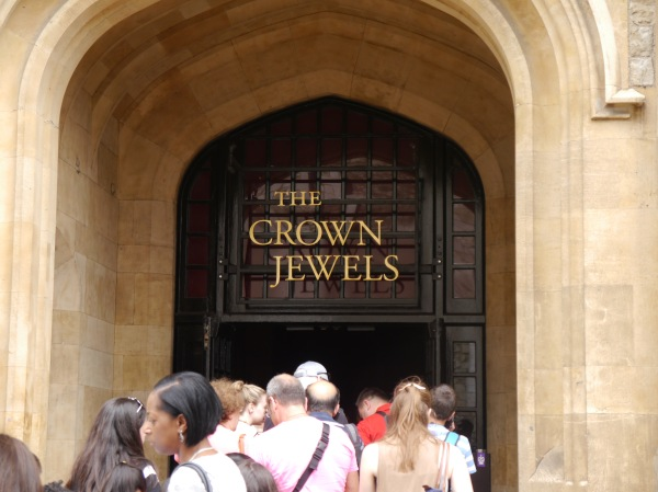 The Crown Jewels - the line can get long, but it is worth the wait!