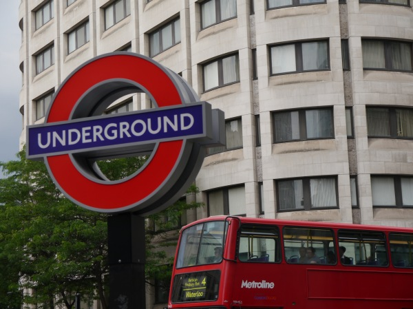 Both the Underground and the double-decker bus were great...