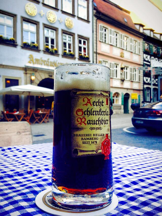 The famous Rauchbier