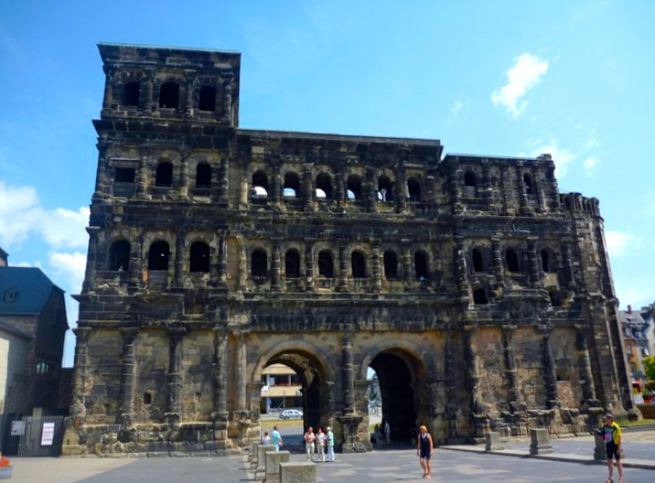 The Porta Nigra - the best preserved Roman gate north of the Alps