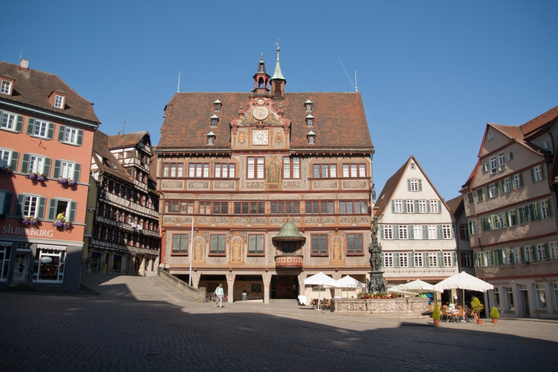 The Rathaus in the main square.