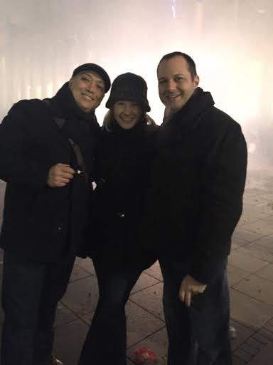 Our friend Craig joined us on the Schlossplatz!