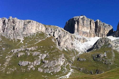 The Dolomites lined our drive from Stuttgart to Vicenza. They were gorgeous!