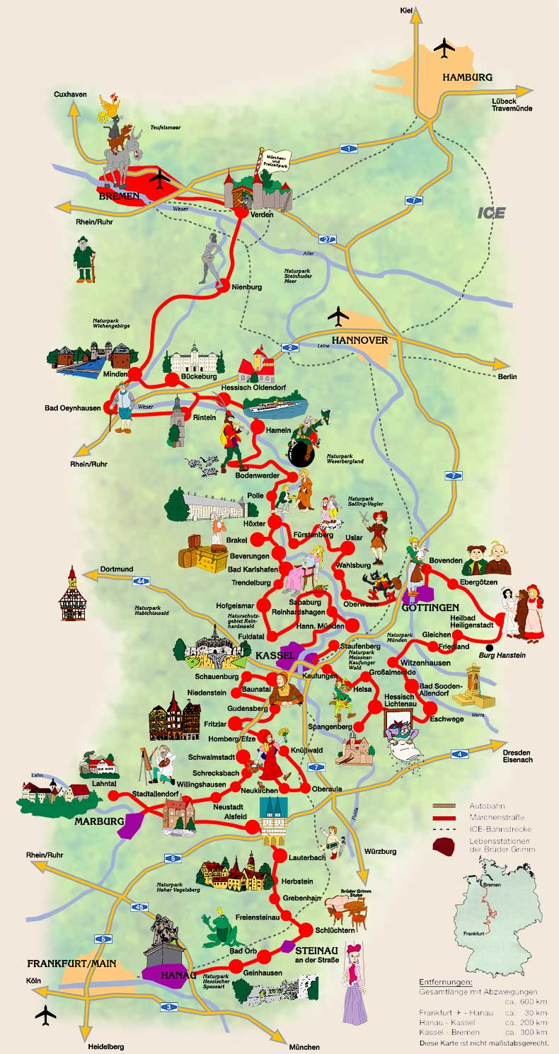 The Fairy Tale route in northern Germany!