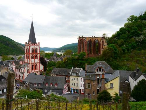 Bacharach - one of the towns in the UNESCO-recognized sections of the Rhine