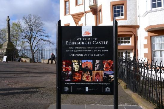 Welcome to Edinburgh Castle!