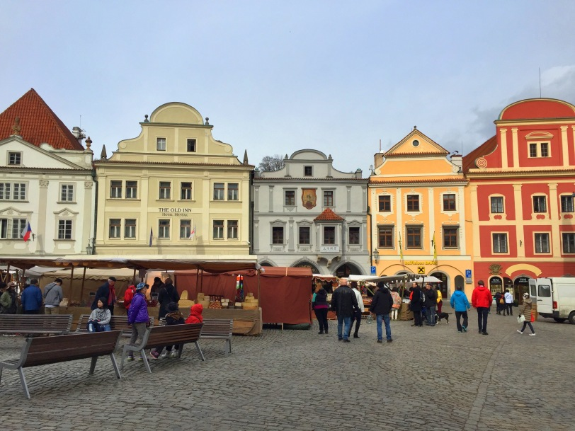 More of the colorful main square.