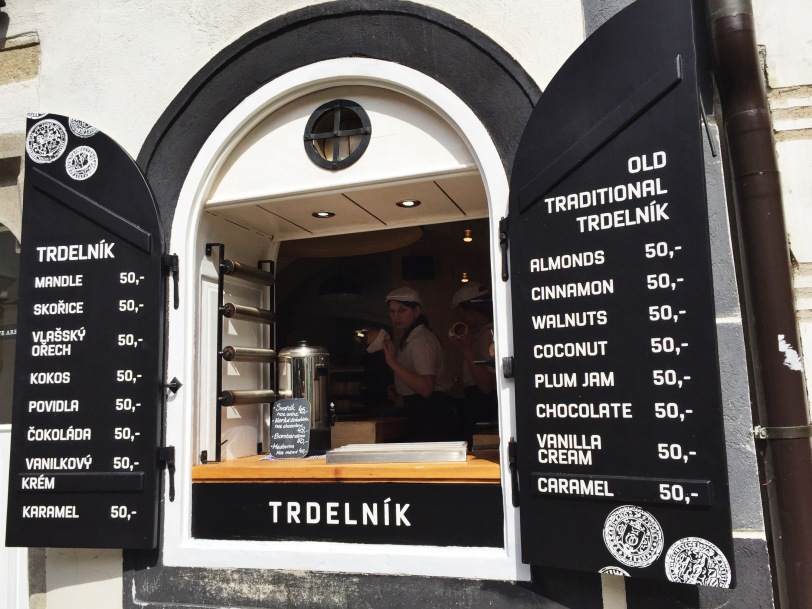 When in the Czech Republic (or Hungary), you must try a Trdlenik, rolled pastry dough that is grilled and topped with sugar. So yummy!