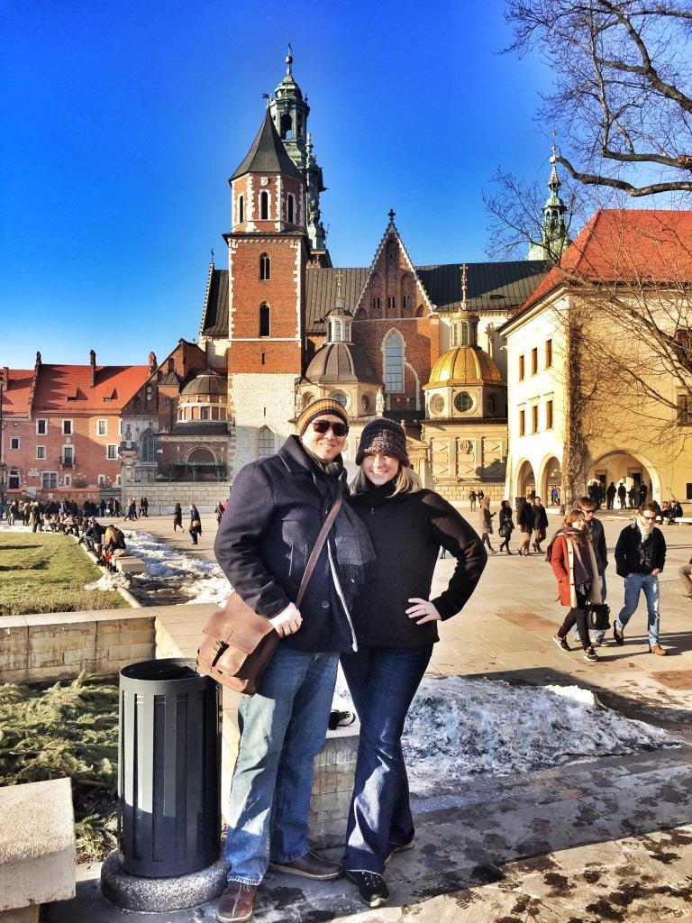 Exploring Wawel Hill