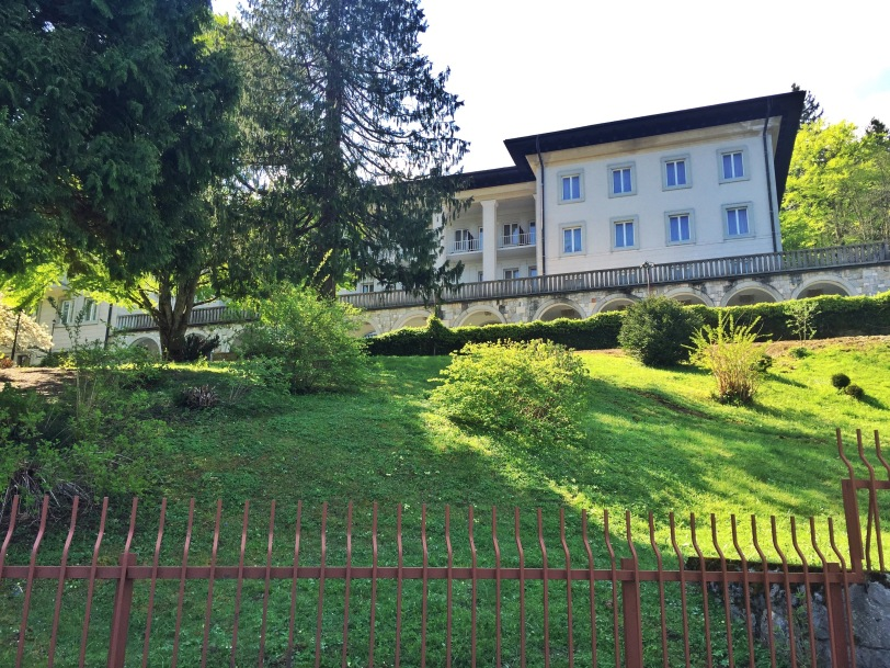 Former summer home of the Yugoslavian president...now a hotel.