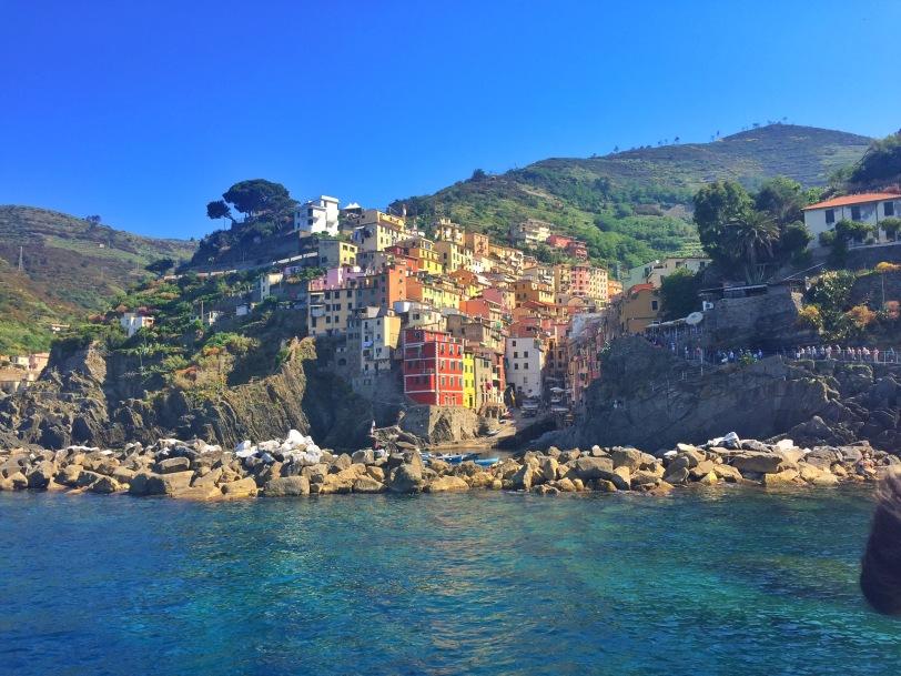 The Cinque Terre coastline