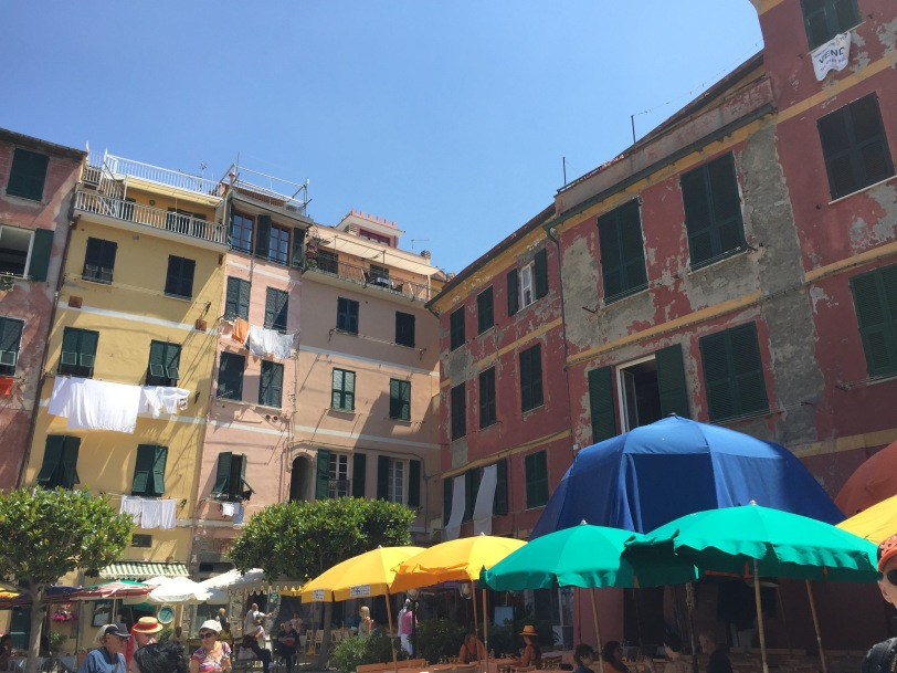 The waterfront in Vernazza