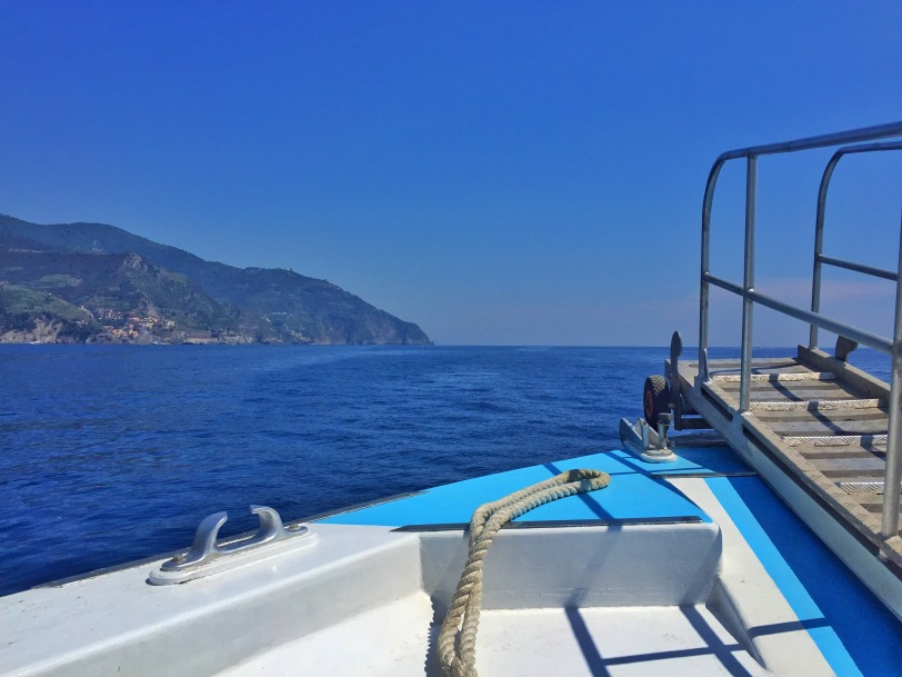 View on the boat