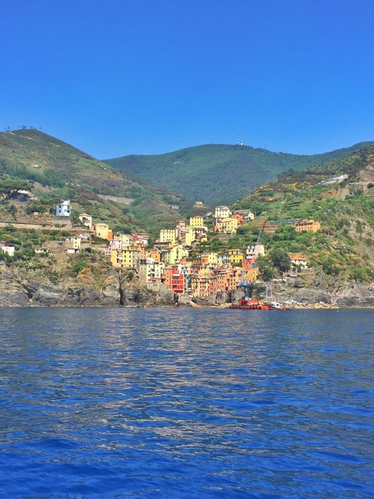 Riomaggiore from the water