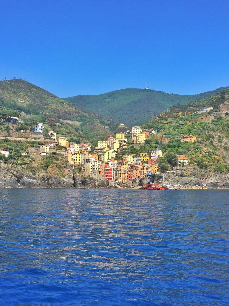 Riomaggiore from the water