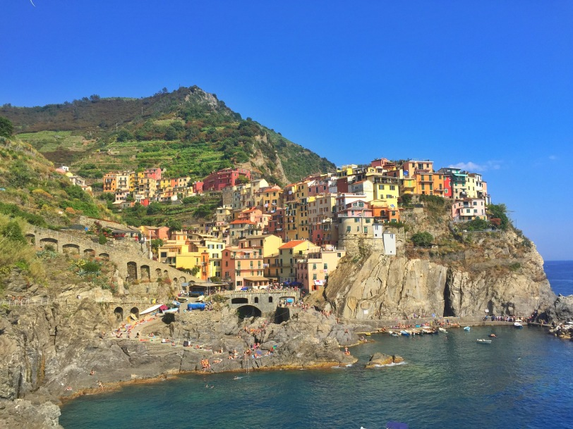 Also, Manarola has one of the best places for a photo op..