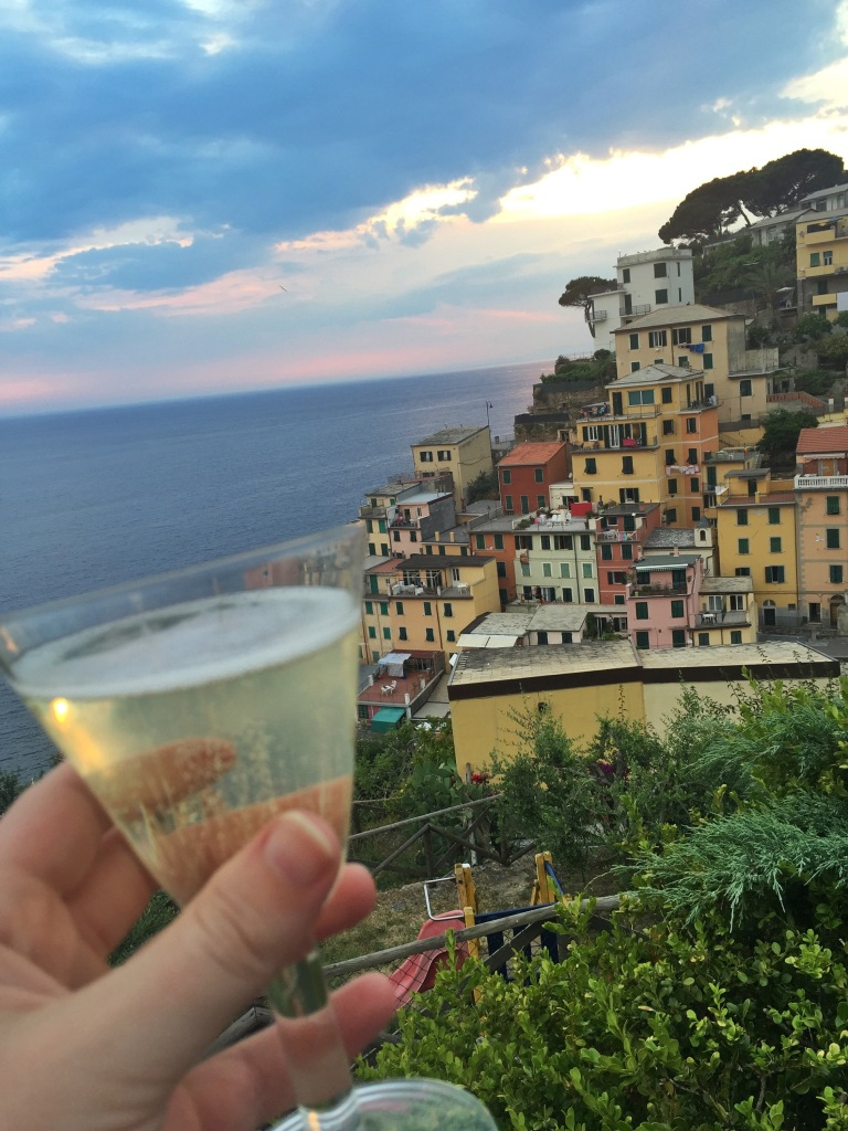 Cheers to Cinque Terre - you are the best!