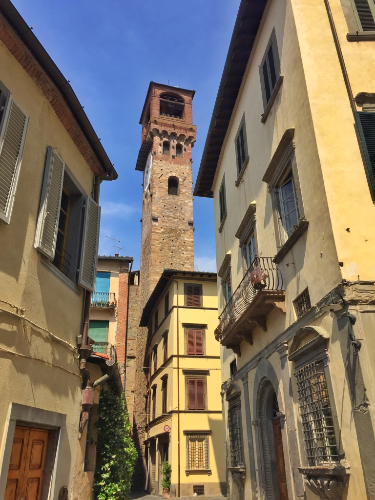 The Lucca clock tower