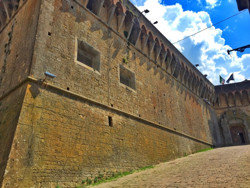 Lots of walled towns in Tuscany...this is Volterra's wall!