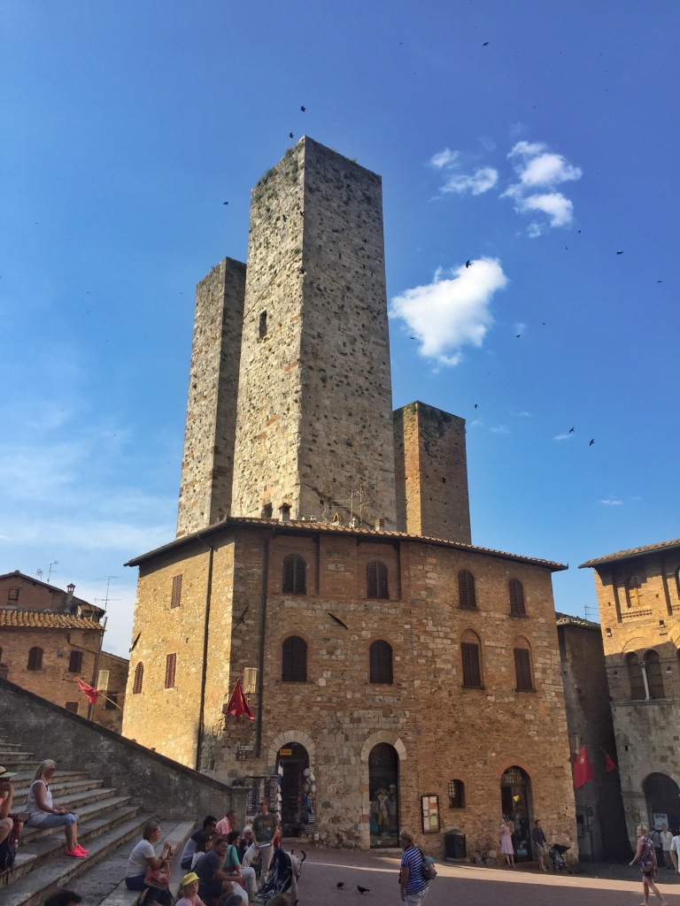 Towers of the town