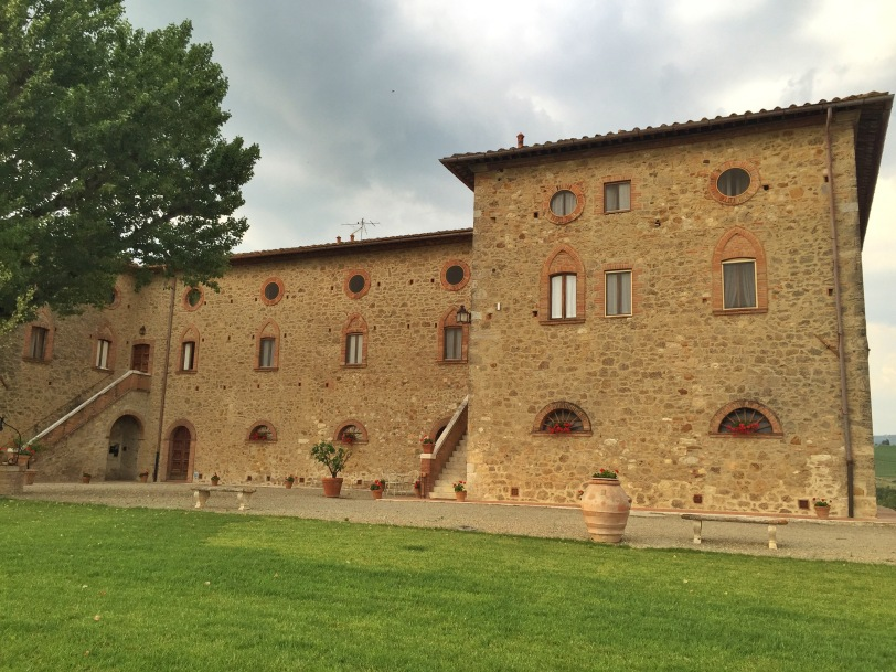 Our home for our time in Tuscany. It was fantastic - 2 bedrooms, 1 bath with a full kitchen and sitting area.