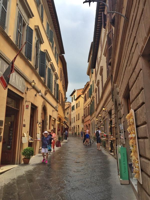 Pretty main street that runs the length of town.