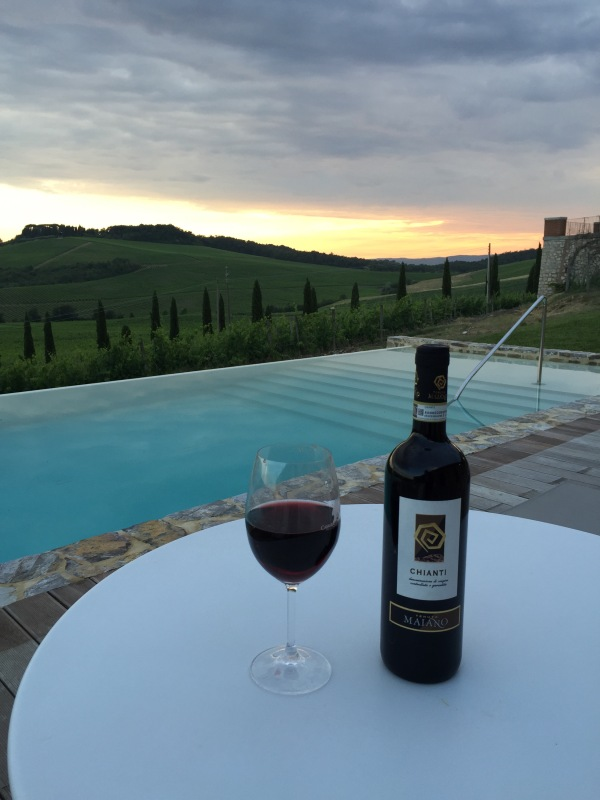Perfect last night at the Agriturismo!