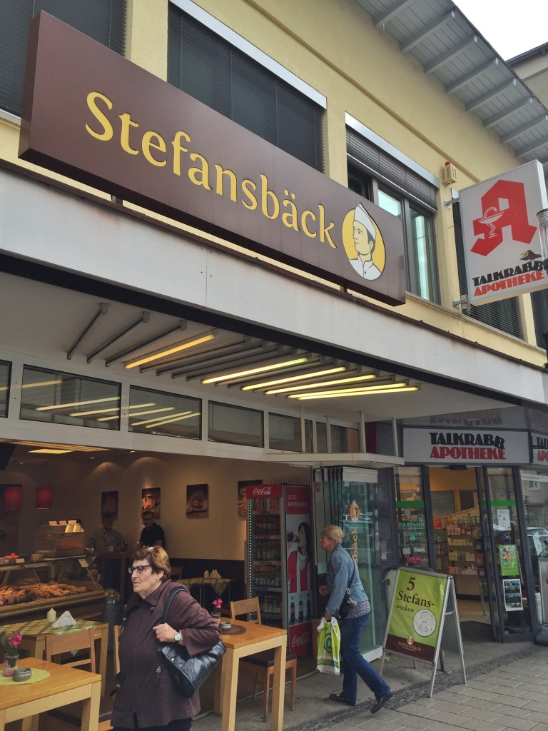 If the Trolsch is busy, we head to the Stefansbach. Feuerbach literally has eight bakeries in town to choose from!
