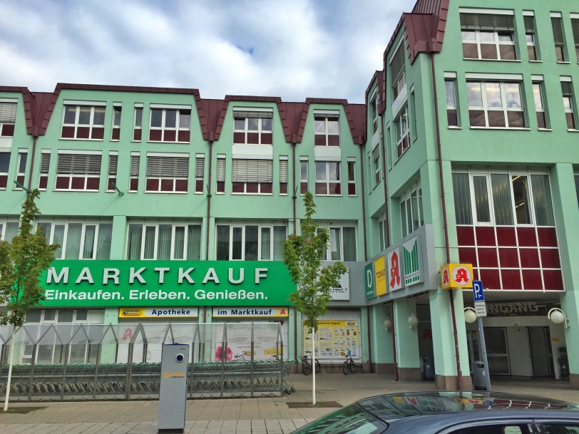 Across from Wichtel is the Marktkauf, a larger grocery store and also home to a Getranktmarkt, which is basically just a warehouse full of beer, wine, soda and water! So many choices!