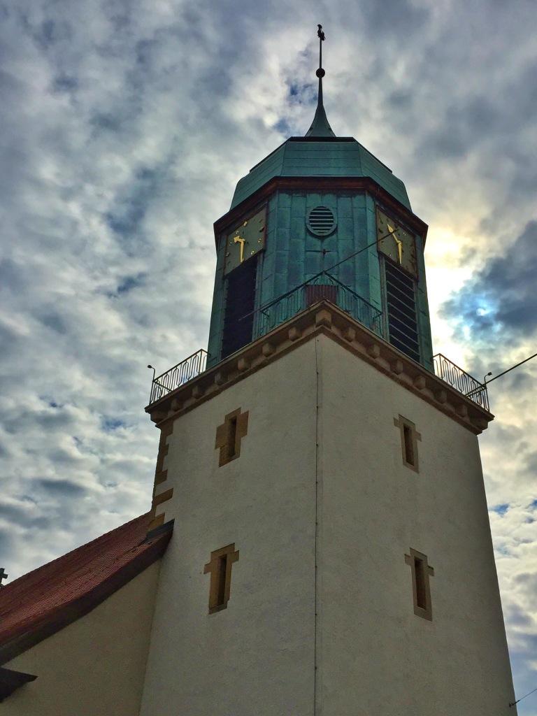 The town church.