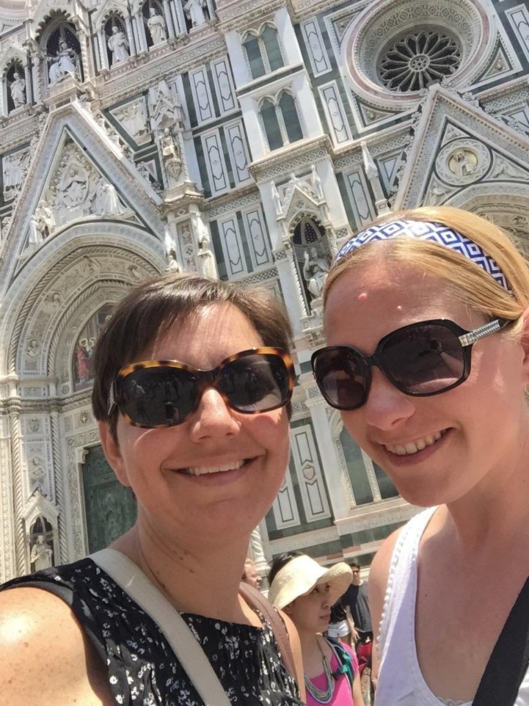 Florence selfie!