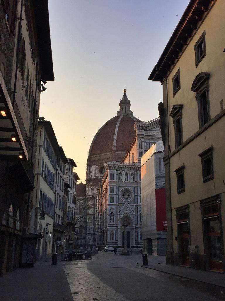 Duomo during sunrise