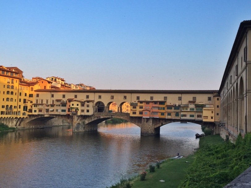 Ponte Vecchio at sunrise