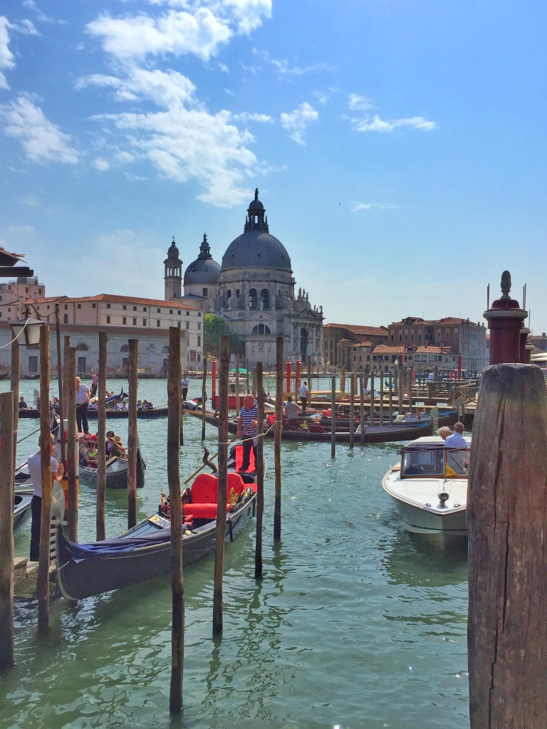 The other end of Venice.