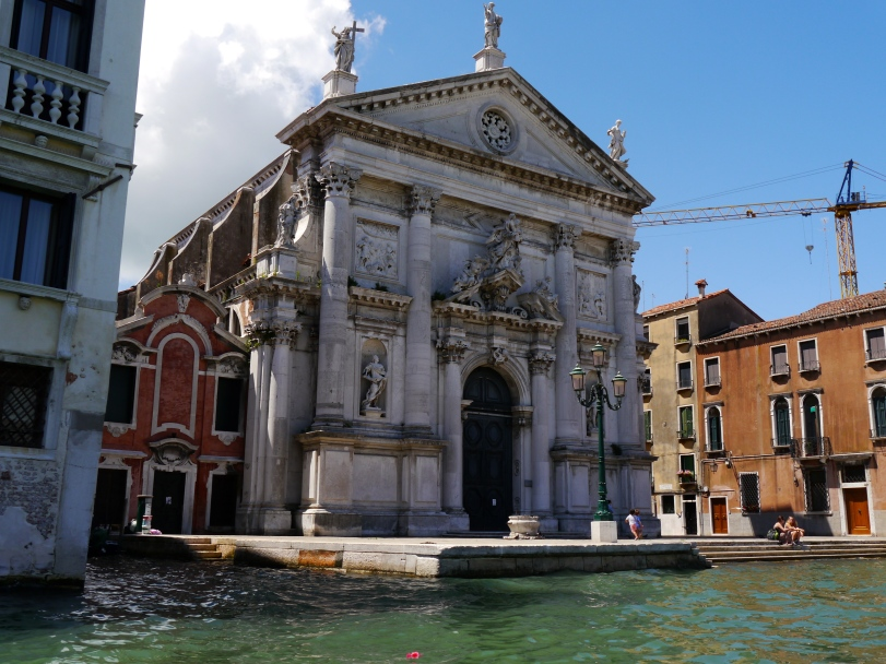 One of the 139 churches in Venice.