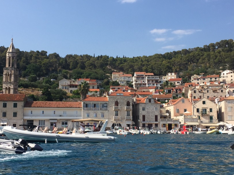 The Hvar marina